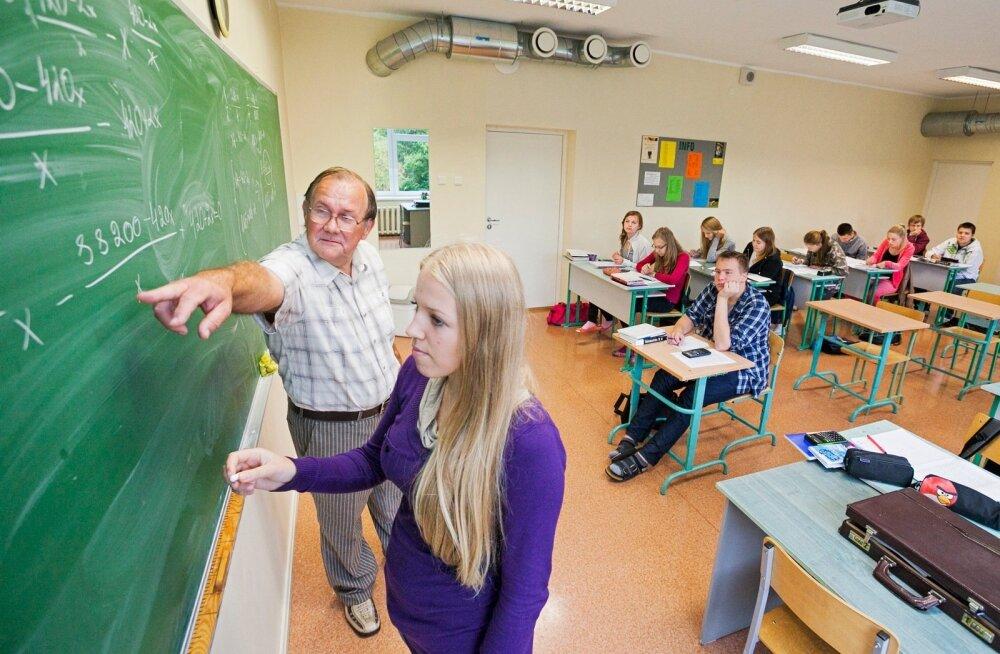 Mentor täidab klassijuhataja rolli, lihtsalt väiksema hulga õpilastega. Foto on illustratiivne.