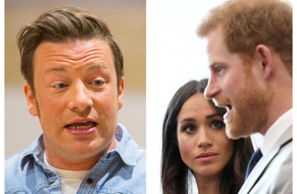 Kas nii siis võib? Jamie Oliver pakkus tasuta toitlustust, Meghan ja Harry ei teinud kuulmagi