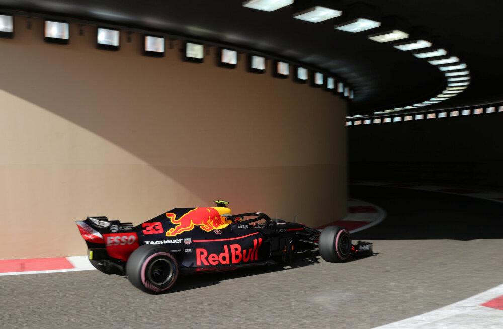 Abu Dhabi GP esimest vabatreeningut valitsesid Red Bullid