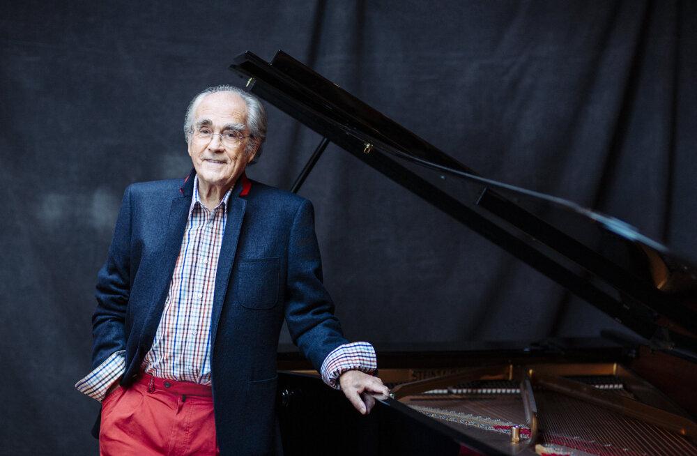 Легенда французского кино Мишель Легран привезет любимые мелодии в Таллинн