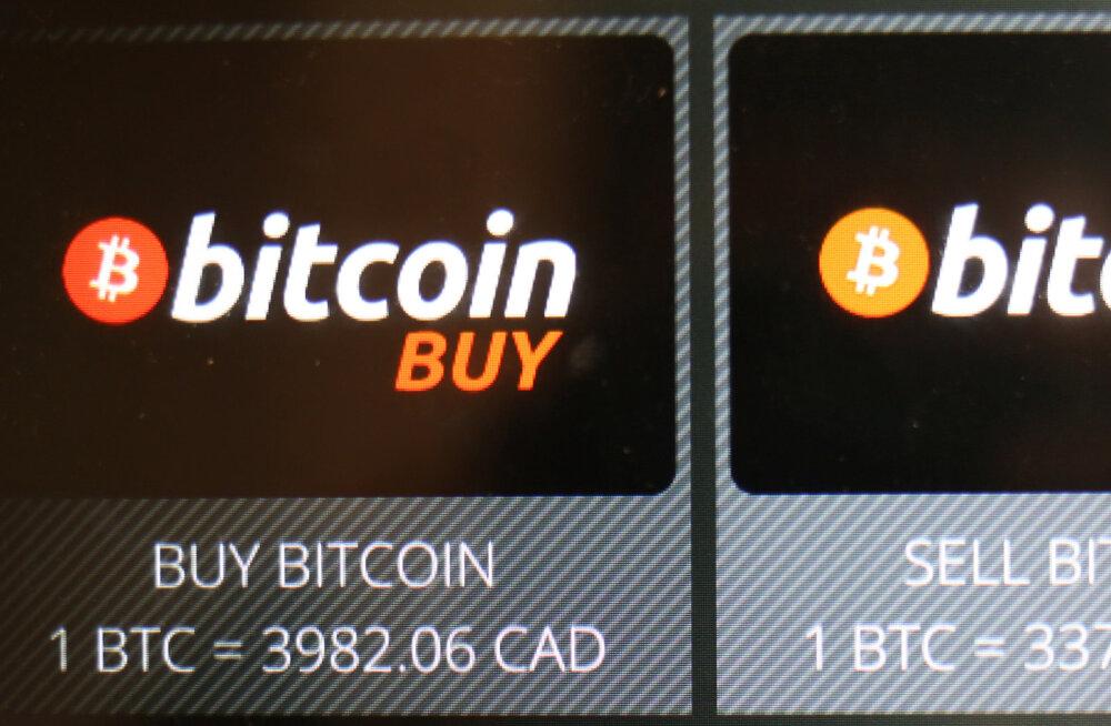 Bitcoini tabas tõusu järel järsk kukkumine