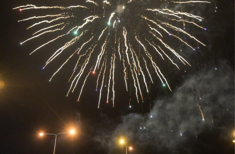 Uue aasta vastuvõtmine Viljandis