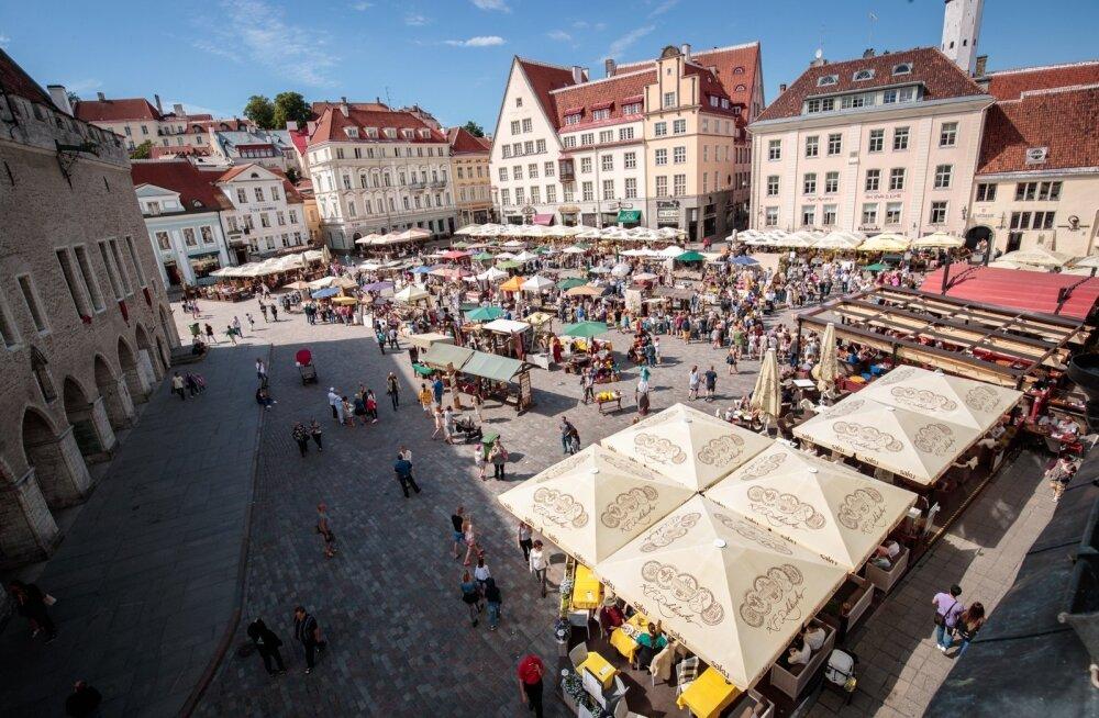 Välisturistidest kulutavad Eestis kõige enam konverentsidel käijad