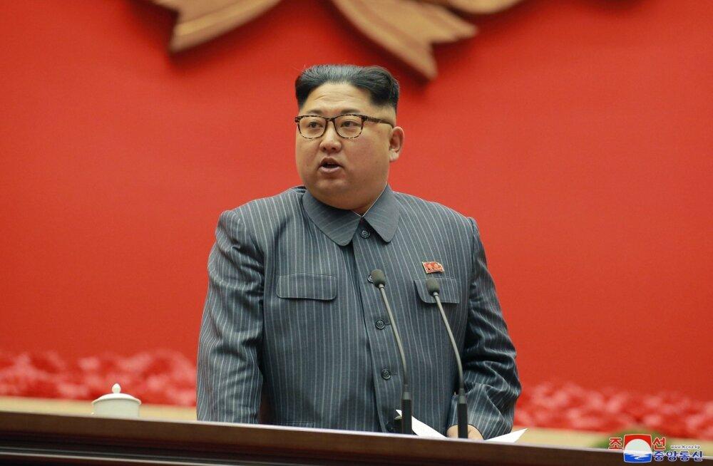 Põhja-Korea juht Kim Jong-un