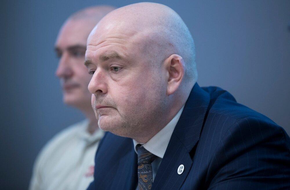 Päästjate ametühing arutab siseminister Andres Anveltiga palgaküsimust