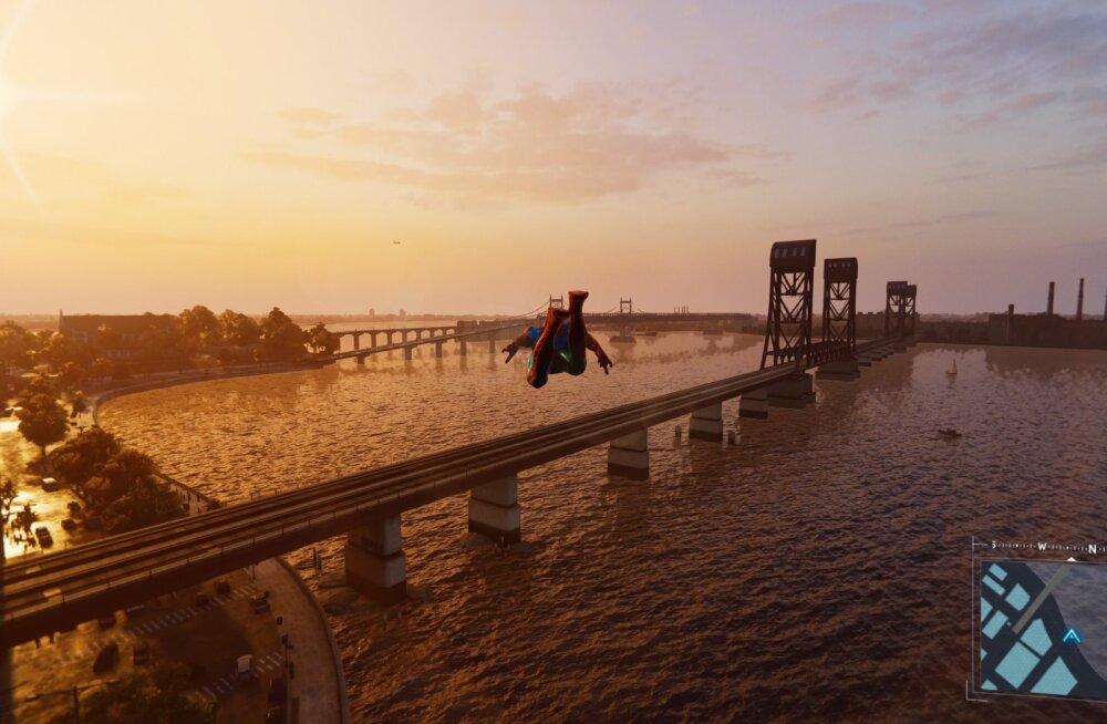 FORTE MÄNGUARVUSTUS | Marvel's Spider-Man (PS4) – tempokas, kaunis ja legenditruu märulseiklus