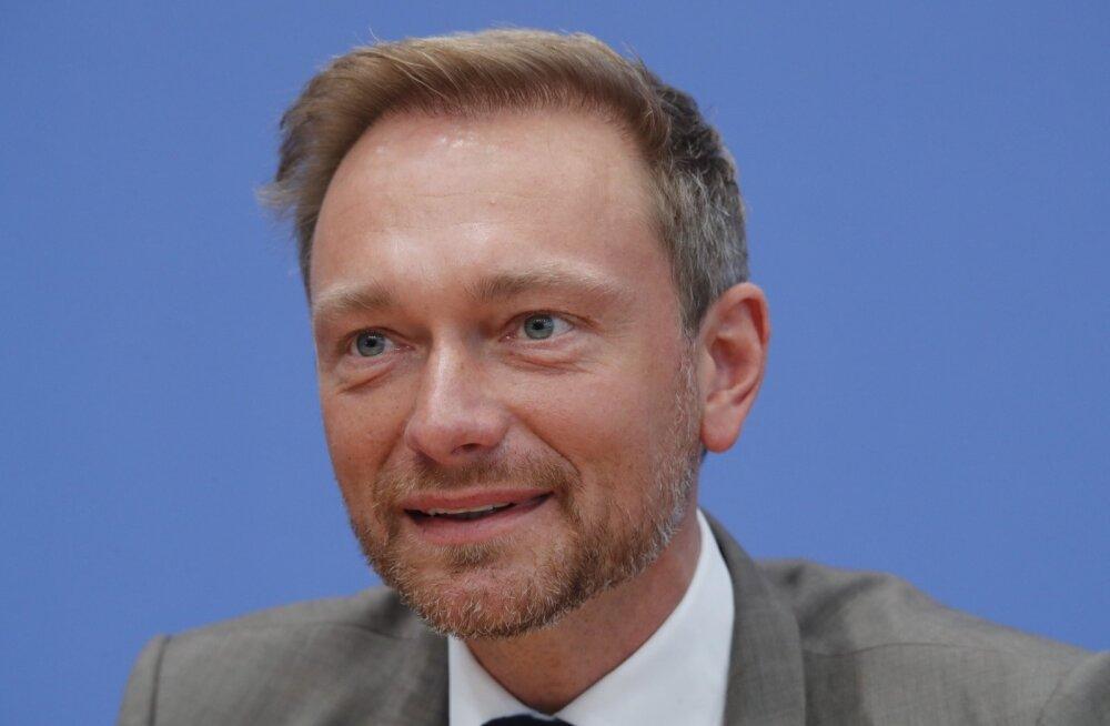 Liberaalide juht Christian Lindner