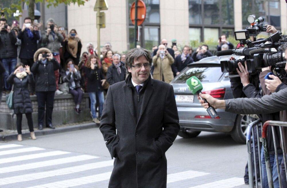 Экс-глава Каталонии Карлес Пучдемон сдался бельгийской полиции