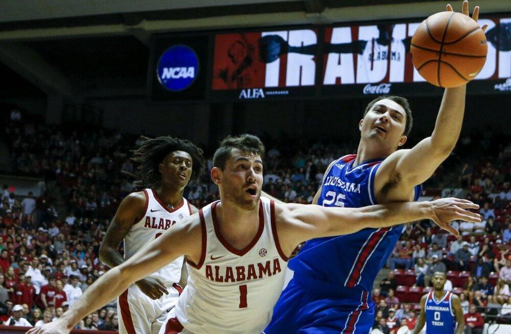 NCAA kohtumine Alabama - Louisiana Tech