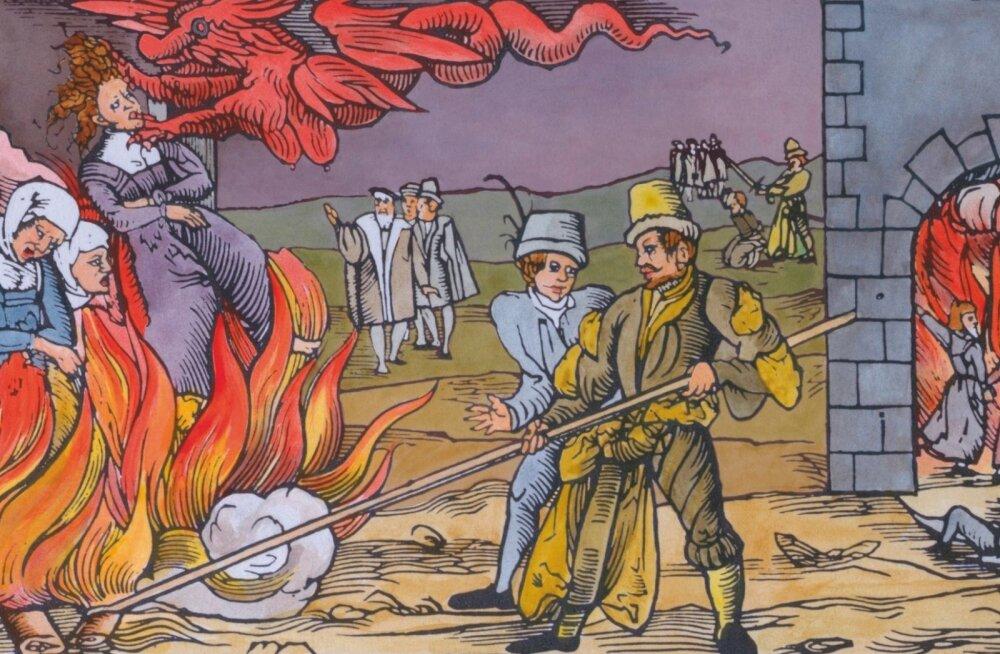 50 000 tuleriidal põletatud naist: keskaegse nõiajahi üks õõvastavamaid tulemusi