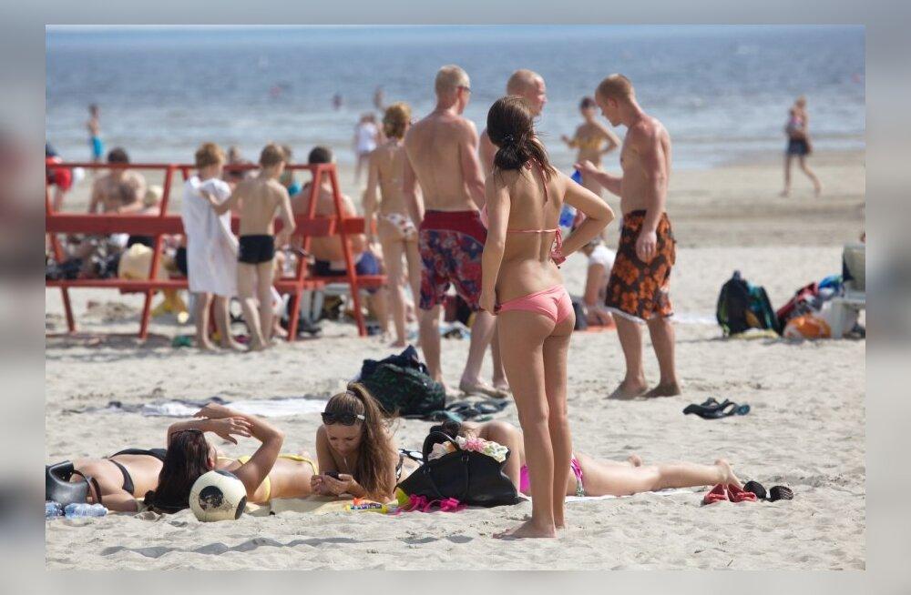 Pärnu rannahooaja avamine