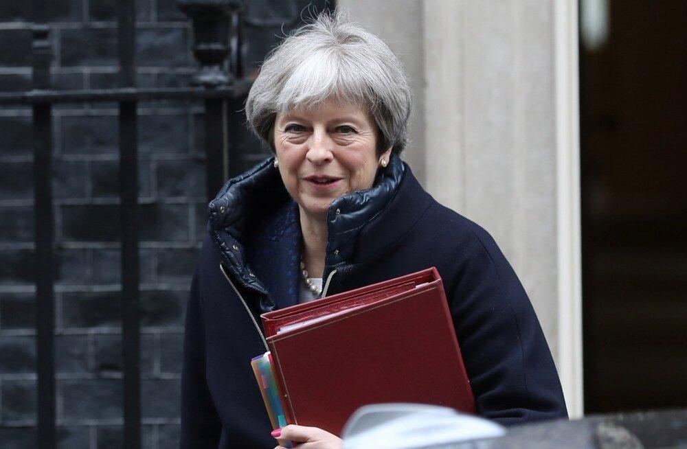 """""""Peame leppima karmide faktidega – pärast Euroopa ühisturult lahkumist ei jää elu endiseks,"""" tõdes Theresa May kuu alguses peetud kõnes."""