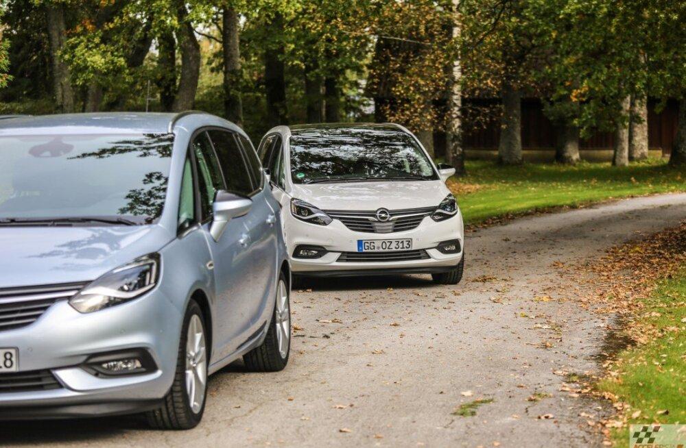 Pilk peale, käsi külge: uuenenud Opel Zafira sai moodsama väljanägemise