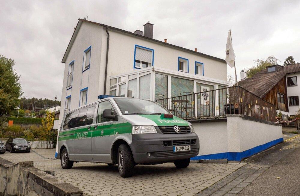 Saksamaal toimus politseioperatsioon arvatavate paremäärmuslike terroristide vastu