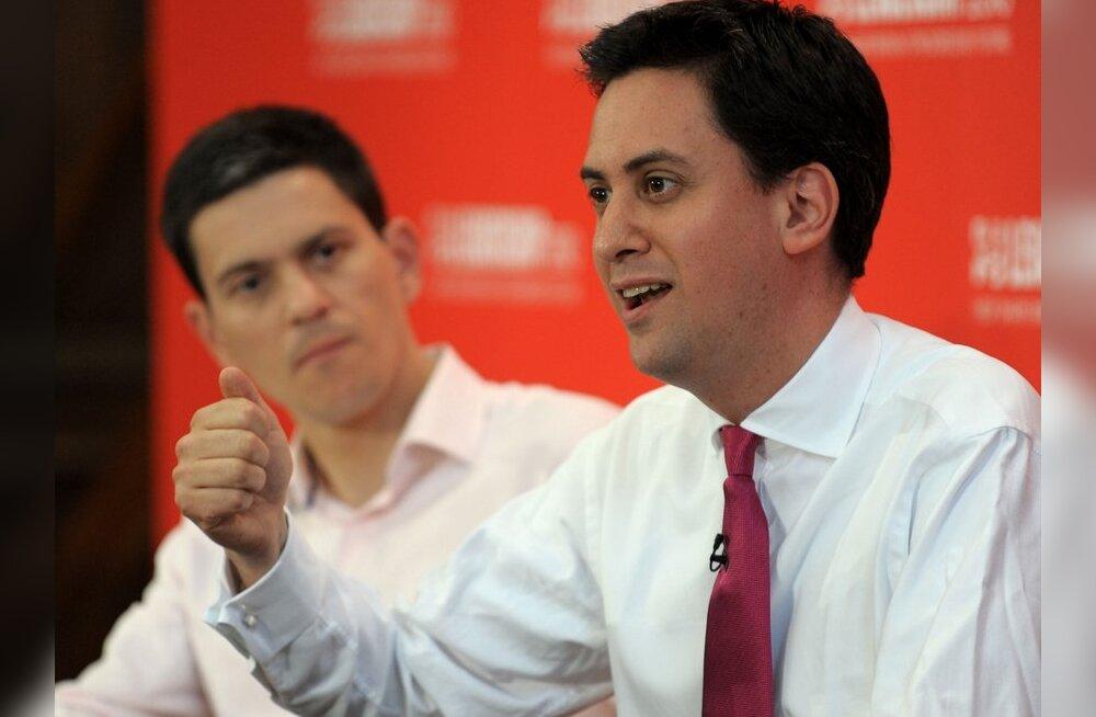 Tegi vanemale vennale ära: leiboristide uueks juhiks sai Ed Miliband