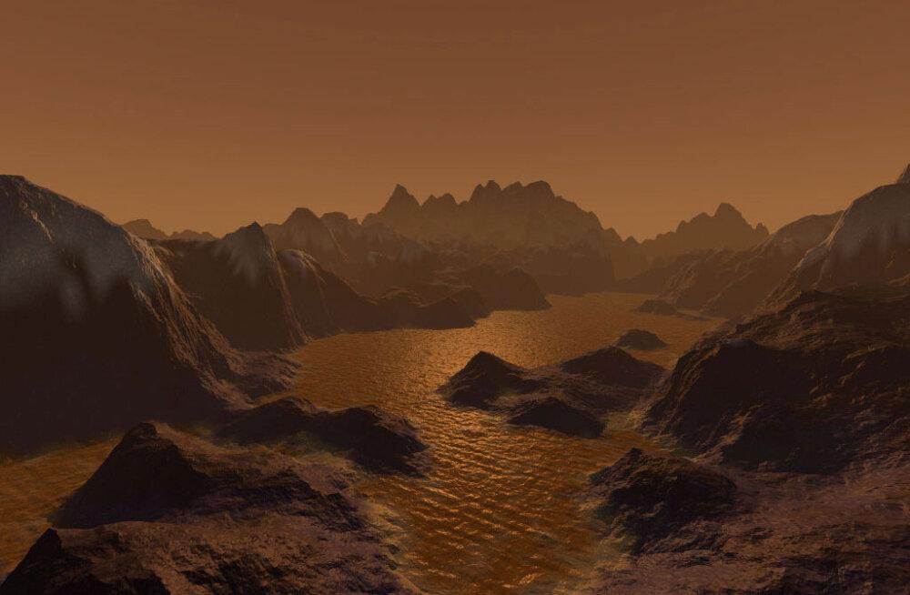Vihma kallab kui oavarrest: Saturni kuu Titani ilm on Maa omale arvatust veel sarnasem