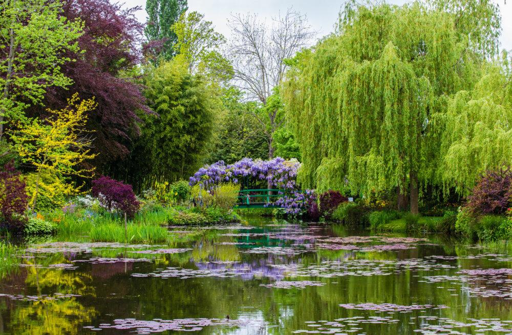 Monet´ poolt rajatud Giverny aed