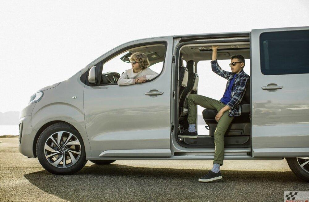 Citroën Spacetourer – ehtprantslasliku mugavuse saatel kõrgliigasse