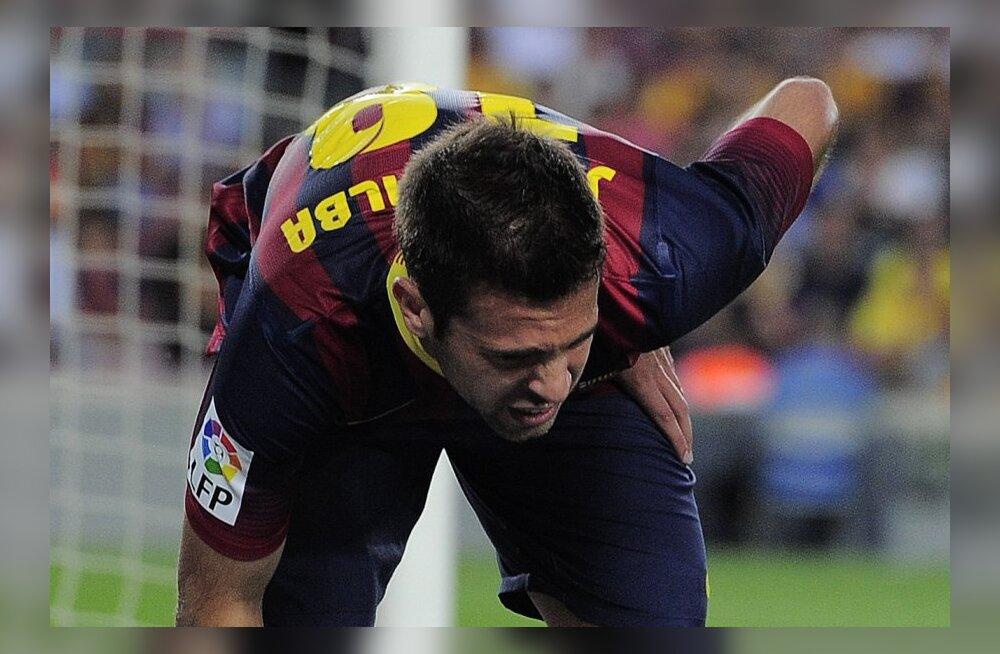 FC Barcelona jäi kolmeks nädalaks ilma põhivasakkaitsjast