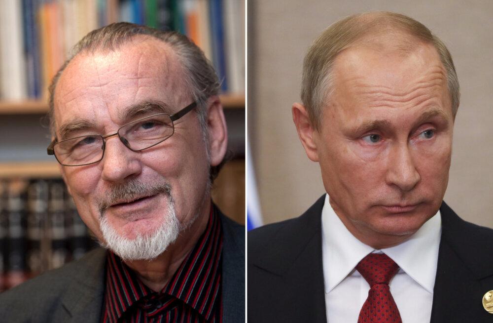Toomas Alatalu ja Vladimir Putin