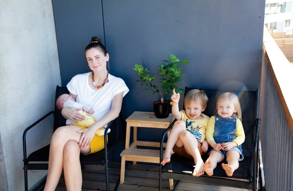Kuidas ma kaks last kodus sünnitasin. Kogemata!