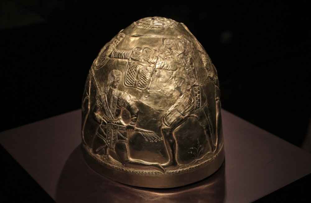 Šveitsi arheoloog avastas Tõva vabariigist vanima sküüdi üliku hauakääpa