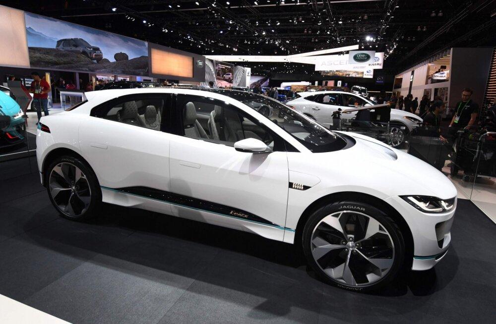 Jaguar I-Pace noobel särtsukas on (vist) odavam kui Tesla Model X. Ja mis siis!?