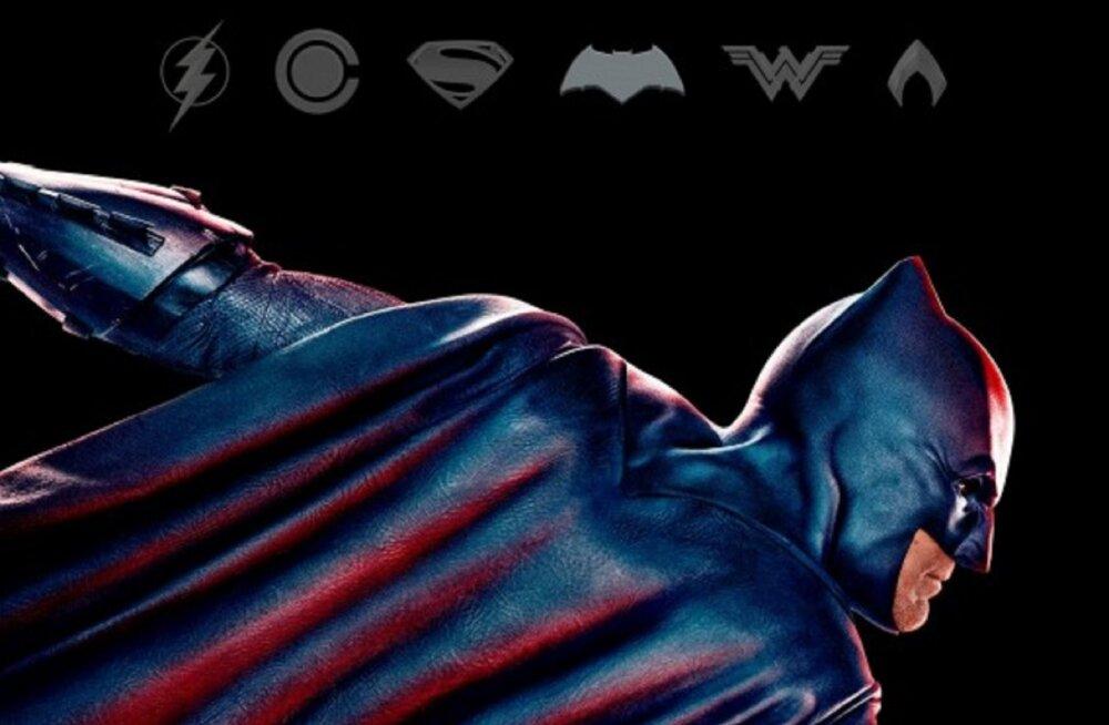 """Kas teadsid, kes on superkangelasefilmi """"Õigluse liiga"""" Batman tegelikult?"""