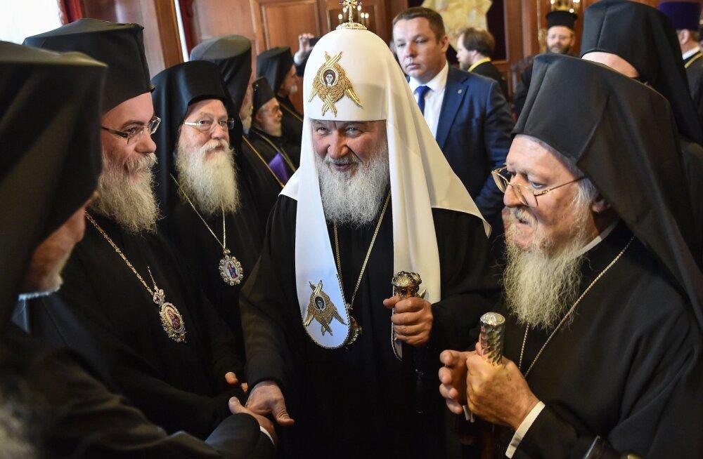 Vene õigeusu kirikut ajab marru idee Ukraina kiriku iseseisvusest