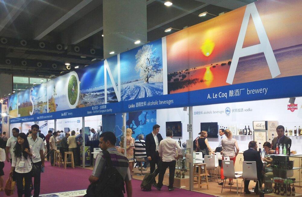 Hiina suurim impordi-ekspordi mess avas ettevõtetele uksi