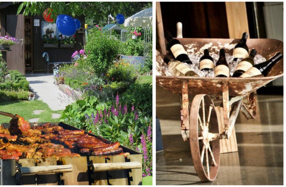 ДЕЛАЕМ САМИ │ Кино в огороде или тачка вместо холодильника: особенности гриль — праздника в саду