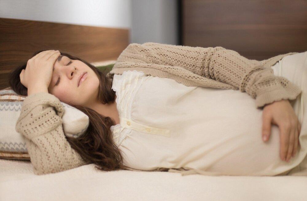 Ema rasedusaegne stress mõjutab lapse jooksma ja kirjutama hakkamist