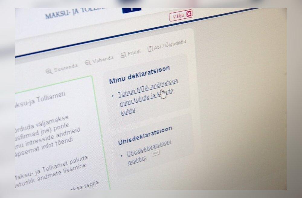 Maksuamet selgitas, millised on tulu deklareerimisega seotud muudatused