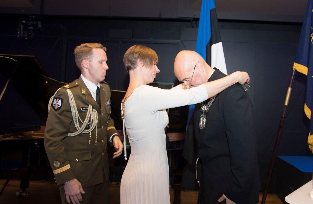 Состоялась инаугурация нового ректора Эстонской академии музыки и театра Ивари Илья