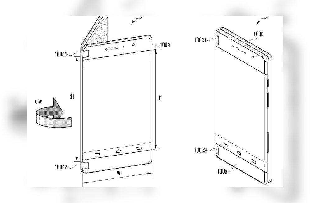 Leke: Samsungi voldiktelefoni võib oodata juba varsti