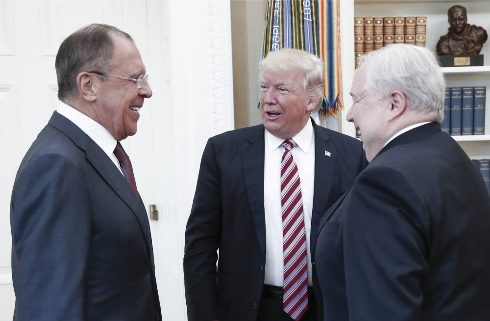 Lavrov, Trump, Kisljak