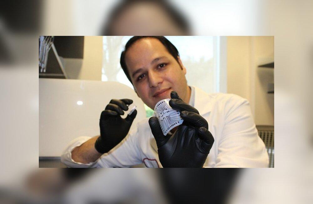 Prinditav mikrokiip diagnoosib haigusi vähem kui sendi eest