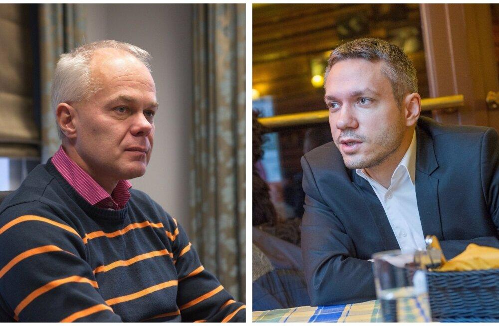 Toomas Kivimägi ja Andrei Korobeinik