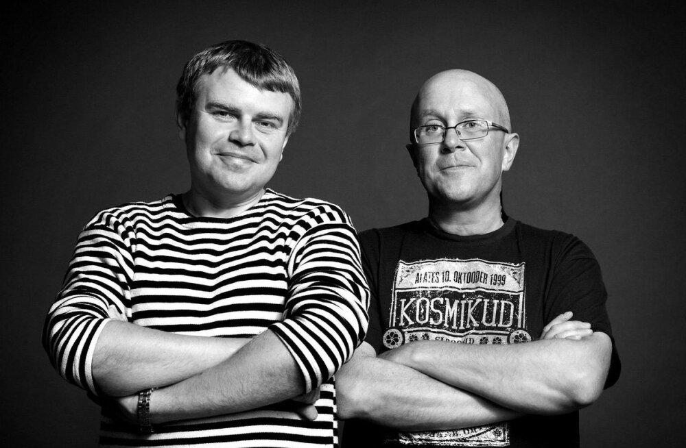 SUUR ÜLEVAADE | Loe, milliste vürtsikate kommentaaridega kritiseerisid Mart Juur ja Andrus Kivirähk Eurovisioni esimest poolfinaali