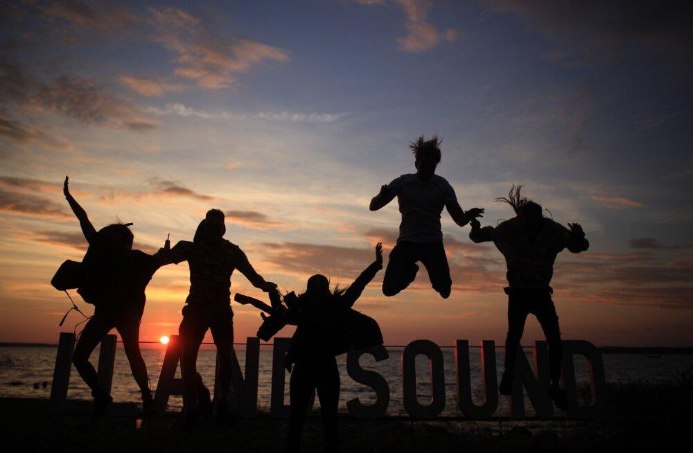 FOTOD | Festival I Land Sound tõi Saaremaale Illiku laiule kokku 4000 huvilist