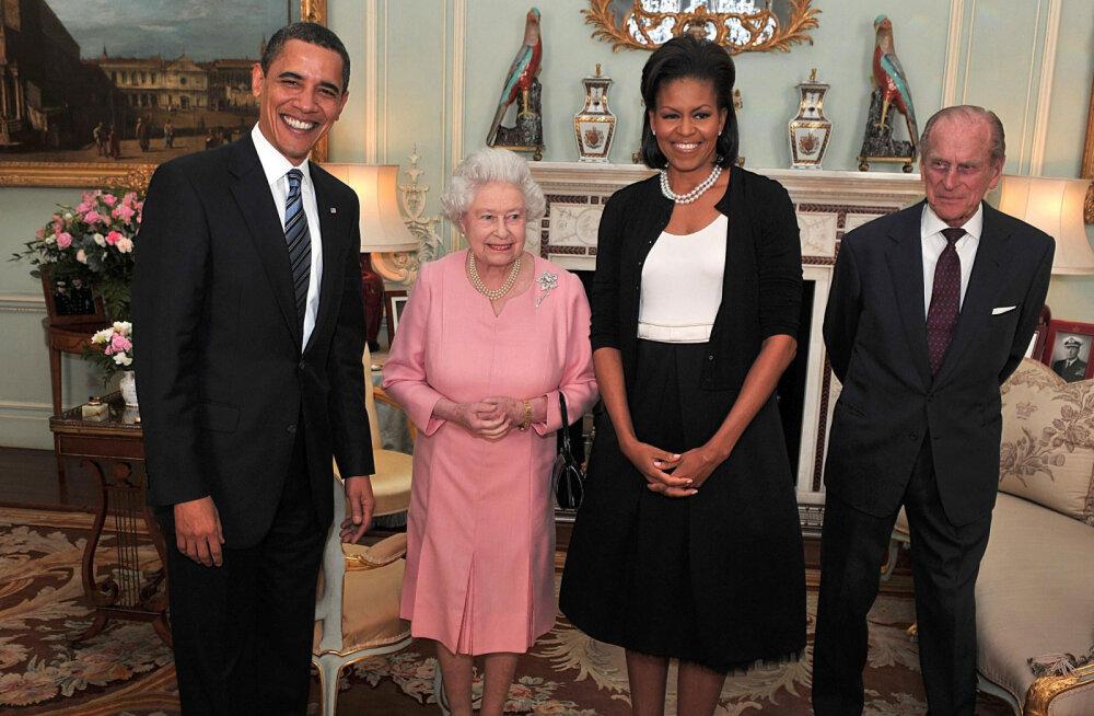 Kes oleks aimanud! Michelle Obamat ja kuninganna Elizabeth II ühendab üks üllatav joon