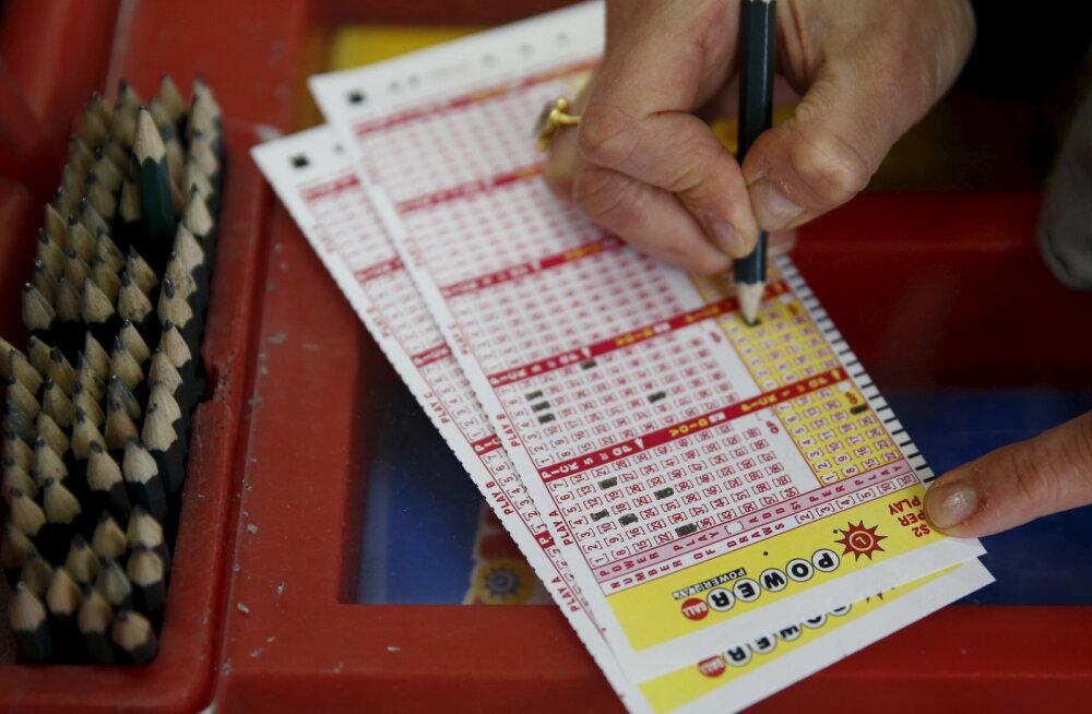 Kas silmapiiril terendab hiiglaslik lotovõit? Loteriis osalemisest soovitatakse eemale hoida