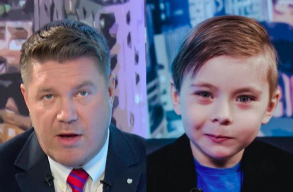 """Hannes Võrno päris intervjuus Oliver Kõvaskilt raha, sõna """"neeger"""" ja Kersti Kaljulaidi kohta"""