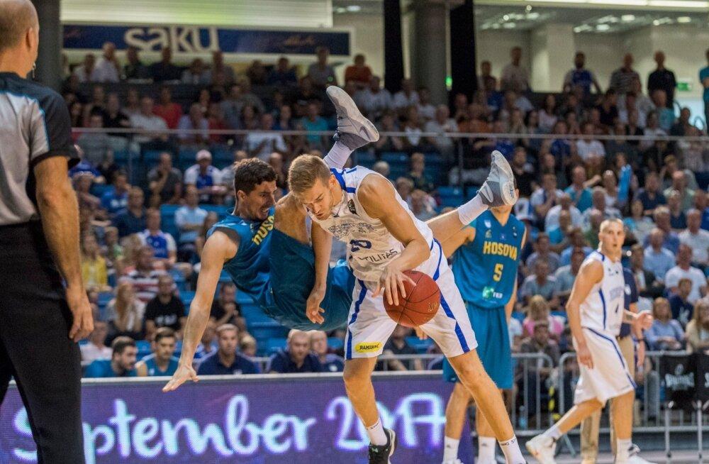 Eesti korvpallikoondis jätkas 2019. aasta MM-i lisavalikturniiri võidukalt, alistades Saku suurhallis Kosovo suurelt 76:50.