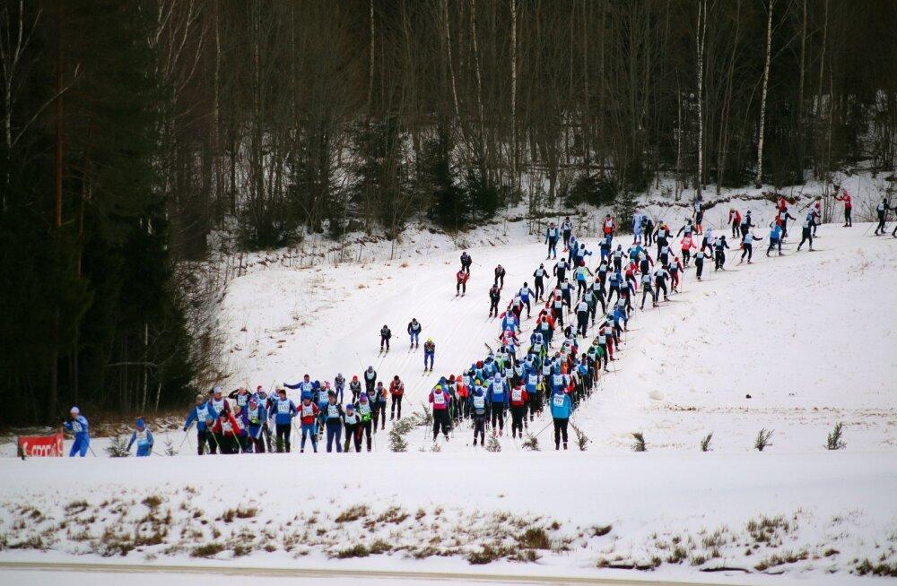 Tartu Maraton 2017, 25.02, start kell 12.00