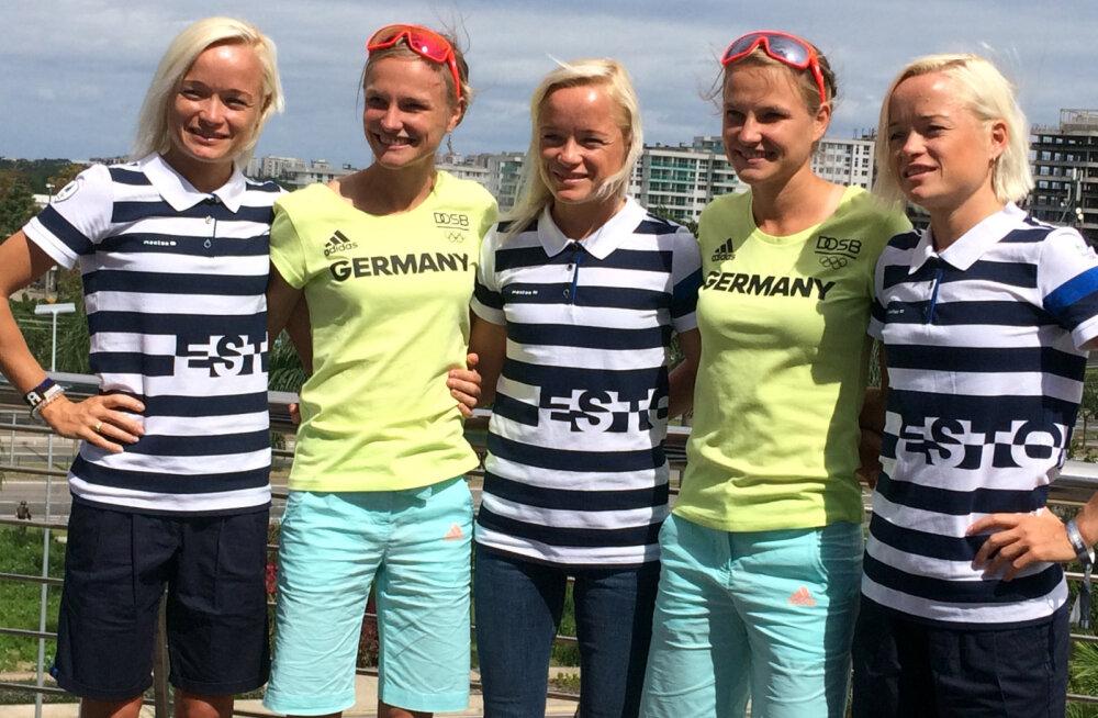 Põnev projekt: õed Luiged jooksevad Luksemburgis Saksa kaksikutega teatemaratoni