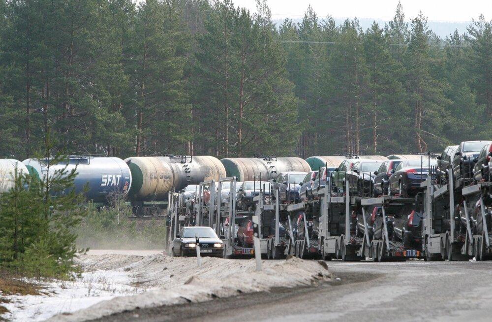 Kaubavedu liikus maanteelt raudteele
