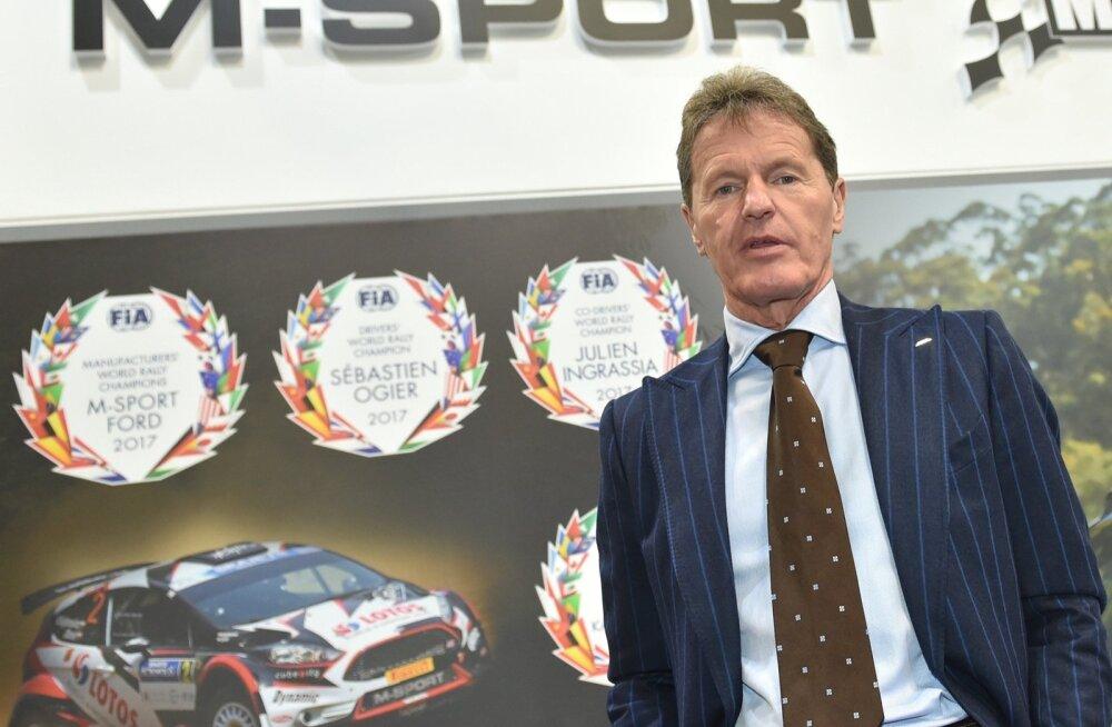 Malcolm Wilsonil on tiimipealikuna sama palju meistritiitleid kui Tommi Mäkinenil sõitjana.