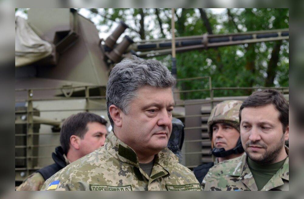 Petro Porošenko terrorivastase operatsiooni staabis