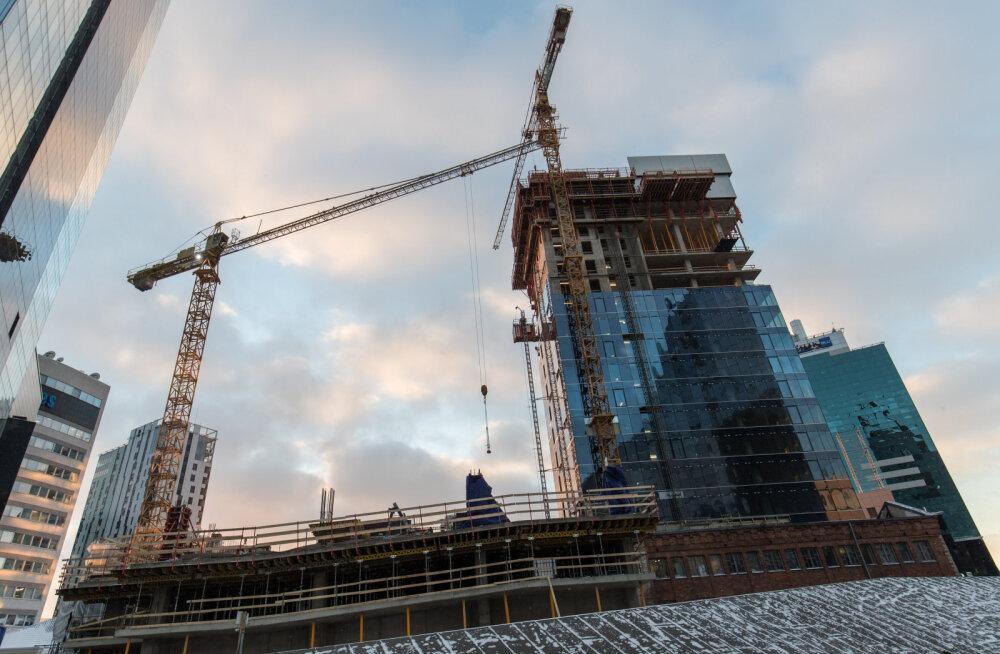Ehitussektor jookseb keskelt tühjaks. Kas astmeline sotsiaalmaks muudaks midagi?